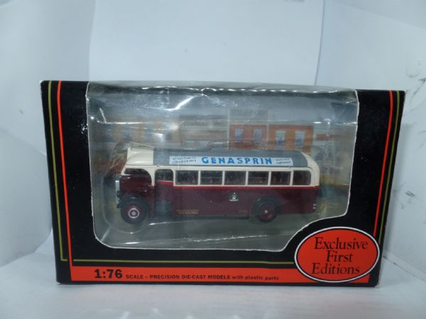 EFE 18404 18404A 18404C Leyland Tiger Type B TS8 Bus Coach Doncaster Corp  Genasprin Adverts
